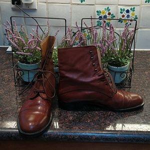 Rive Gauche Vero Cuoio Italian Boots